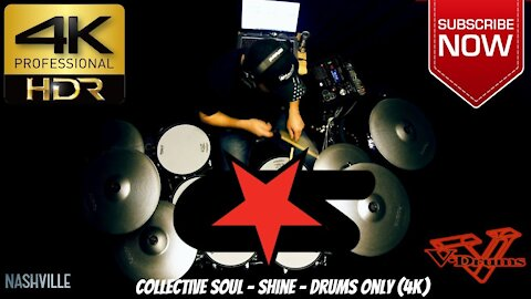 Collective Soul - Shine - Drums Only (4K)