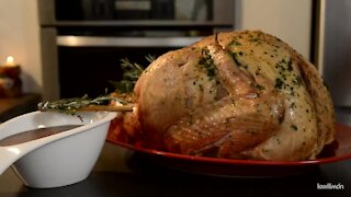 Turkey with Fruit Punch Sauce