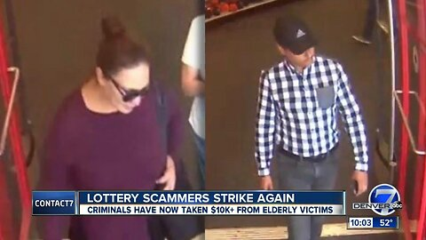 Pair of thieves are using an elaborate story to scam women out of thousands