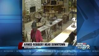 TPD seeks to identify Riverpark Inn armed robber - Video