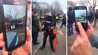 DC State Police are Helping to Bring Antifa Thugs into Capital