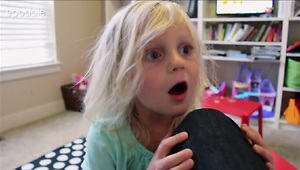3-year-old girl tells hilarious nonsensical stories - Video
