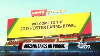 Arizona to meet Purdue in the Foster Farms Bowl - Video
