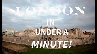 Hyperlapse Video Exploring London in a Unique Way - Video