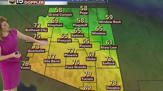 Temperatures climb, close to record breaking - Video