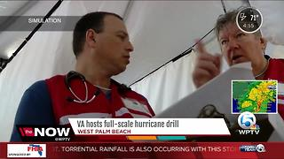 VA hosts full-scale hurricane drill - Video