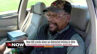 Harsher penalties for distracting driving in Ohio? - Video