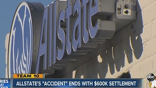Allstate settles lawsuit over 'Accident Forgiveness' benefit - Video