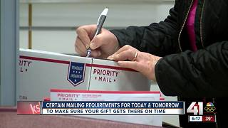 Time is running out to ship your Christmas packages - Video