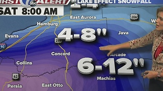 Autums 7 First Alert Forecast for December 7th for 7 Eyewitness News at Noon - Video