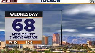 Chief Meteorologist Erin Christiansen's KGUN 9 Forecast Tuesday, January 10, 2017 - Video
