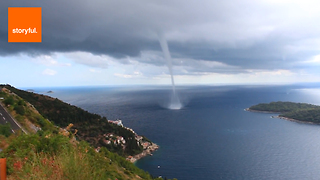Behold the Phenomenon of Waterspouts - Video