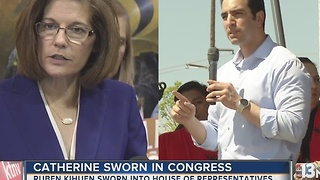 Cortez Masto takes Senate seat as first Latina, Nevada woman - Video