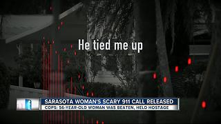 Sarasota woman's scary 911 call released - Video