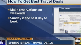 Spring Break travel deals - Video