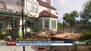 Wind causes more damage than rain - Video