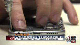 Apple admits to slowing down older iPhones
