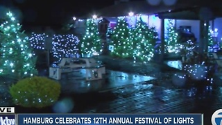 Hamburg celebrates 12th annual festival of lights - Video