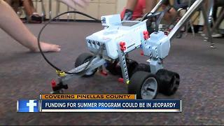 Summer school programs on the chopping block in Pinellas County - Video