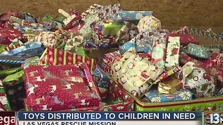 Toys distributed for 13 Days of Giving - Video