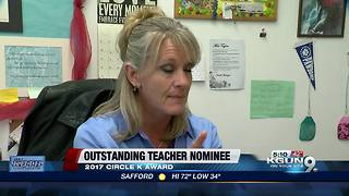 Benson H.S. teacher nominated for 2017 award - Video