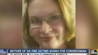 Mother of six Baltimore fire victims worked for Rep. Elijah Cummings - Video