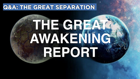 The Great Separation | Q & A