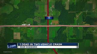 fatal crash in shawano county - Video