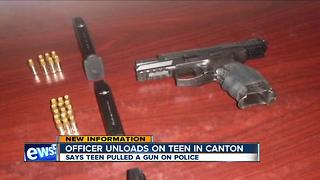Body camera video released in Canton officer-involved shooting