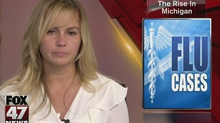 Flu cases increase across Michigan - Video