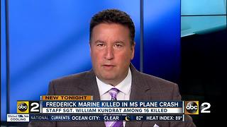 Frederick Marine among 16 killed in Mississippi plane crash - Video