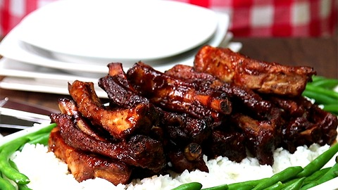 Slow Cooker Spare Ribs