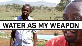Lack of rain, not heart: Filling Kenya's watering holes - Video