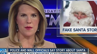 AP FACT CHECK: Wisconsin Santa didn't beat up child molester - Video