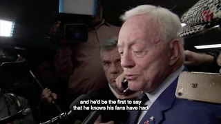 Jerry Jones Excited To Have Ezekiel Elliott Back - Video
