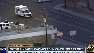 Attempted carjacking victim from U-Haul pursuit speaks out - Video