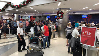 Finding bags, IDs, items left behind proves diffucult for passengers stranded after airport shooting - Video