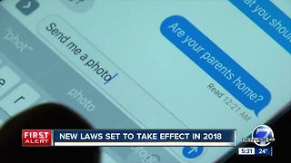 Several new laws are coming to Colorado in 2018 - Video