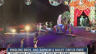 Ringling Bros. and Barnum & Bailey Circus ending - Video