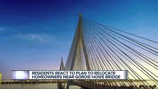 450 Detroiters to get $33M to relocate or renovate for Gordie Howe Bridge build - Video