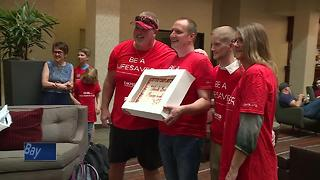 Appleton man meets bone marrow donor who saved his life - Video