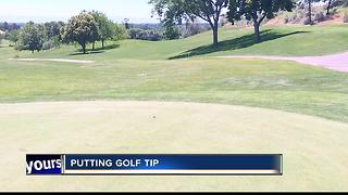 Summer Golf Tip #1 Putting with Broncos Dan Potter - Video