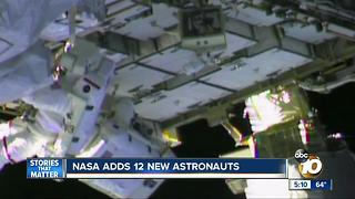 NASA adds 12 new astronauts - Video