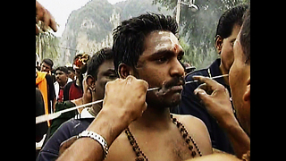 Hindu Piercing Festival - Video