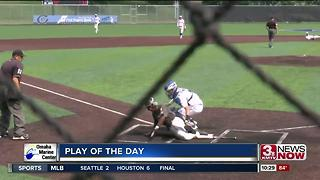 Play of the Day: Prep Pulls 6-4-3-2 DP - Video