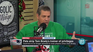 Mike Golic On Why Brady's Trainer Was Banned By Bill Belichick - Video