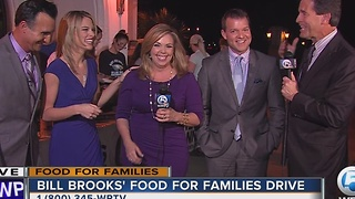 Bill Brooks' Food for Families Drive - Video