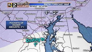 Winter Weather Advisory in effect for Maryland - Video