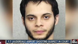 Fort Lauderdale airport shooting suspect due in court Monday - Video