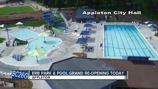 Erb Pool and Park grand reopening - Video